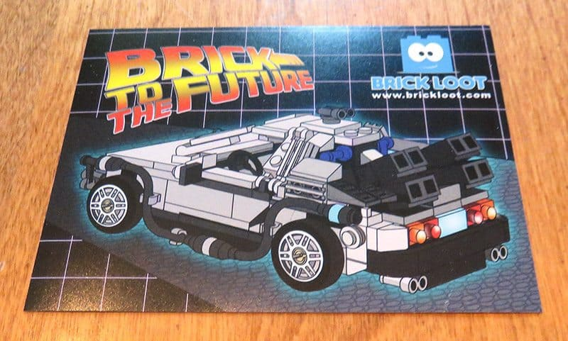 May 2017 Brick Loot Review - Brick to the Future - Sticker