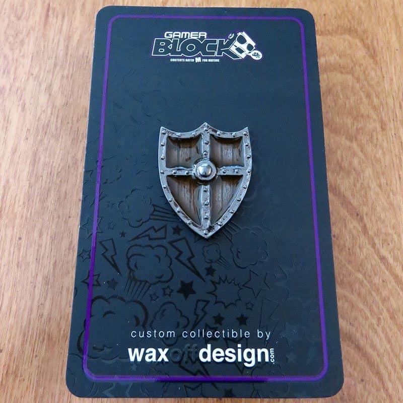 May 2017 Gamer Block M for Mature Review - Shield Pin