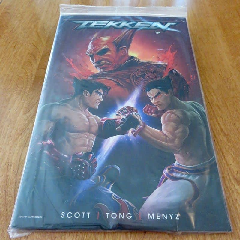 May 2017 Gamer Block M for Mature Review - Tekken Comic Book