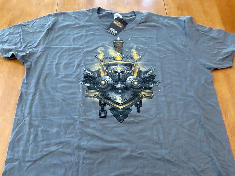 May 2017 Gamer Block M for Mature Review - World of Warcraft T-Shirt