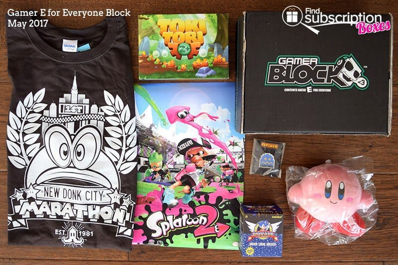 May 2017 Gamer E for Everyone Block Review - Box Contents