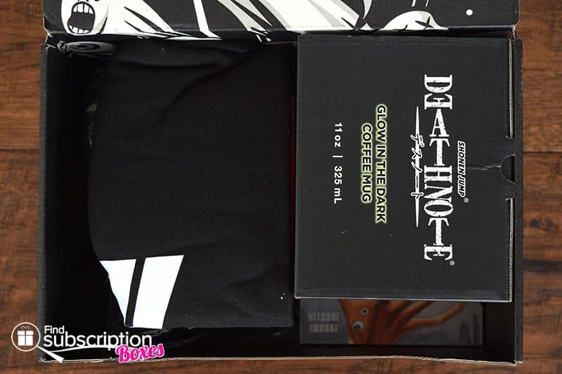 Inside the May 2017 Loot Anime Review - Unnatural Crate - First Look