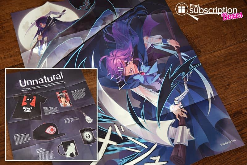 Inside the May 2017 Loot Anime Review - Unnatural Crate - Poster