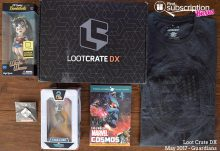 May 2017 Loot Crate DX Review - Guardians Crate - Box Contents