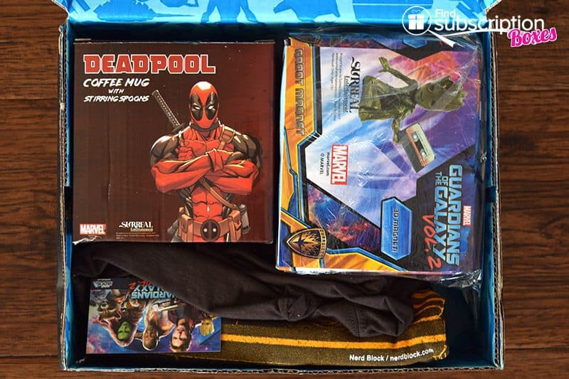 May 2017 Nerd Block Classic Review – Heroes for Hire - First Look