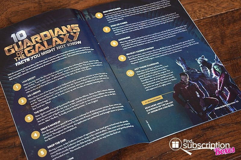 May 2017 Nerd Block Classic Review – Heroes for Hire - Magazine