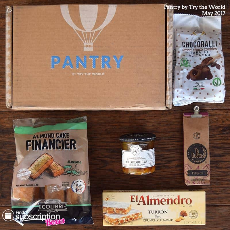May 2017 Pantry by Try the World Review - Box Contents