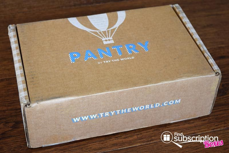 May 2017 Pantry by Try the World Review - Box