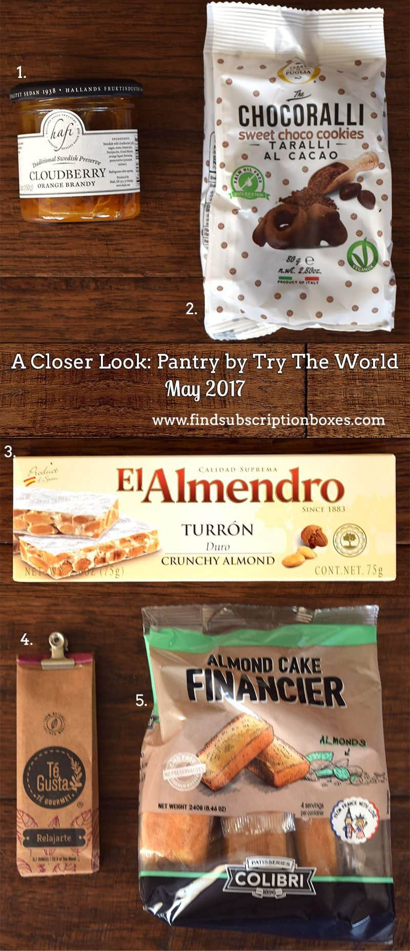 May 2017 Pantry by Try the World Review - Inside the Box