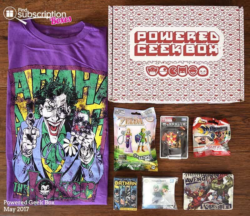 May 2017 Powered Geek Box Review - Box Contents