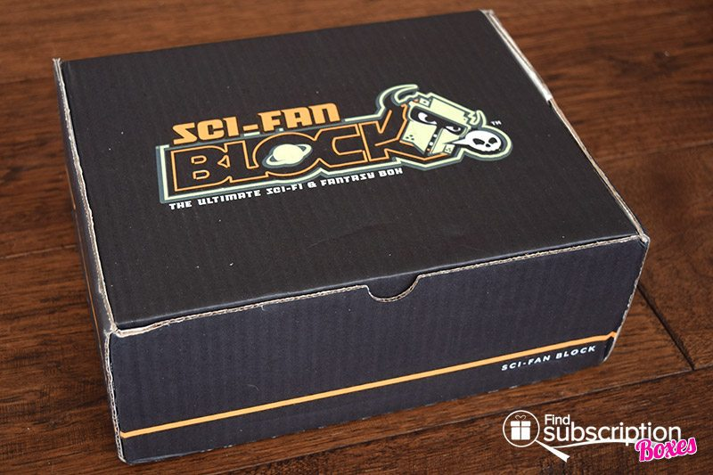 May 2017 Sci-Fan Block Review - Box