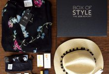 The Zoe Report Summer 2017 Box of Style Review - Box Contents