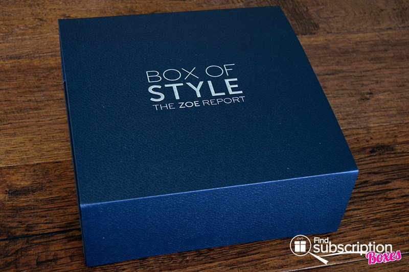The Zoe Report Summer 2017 Box of Style Review - Box