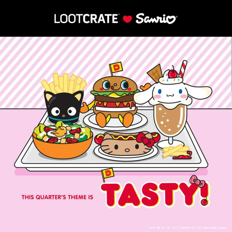 September 2017 Sanrio Small Gift Crate Theme - Tasty