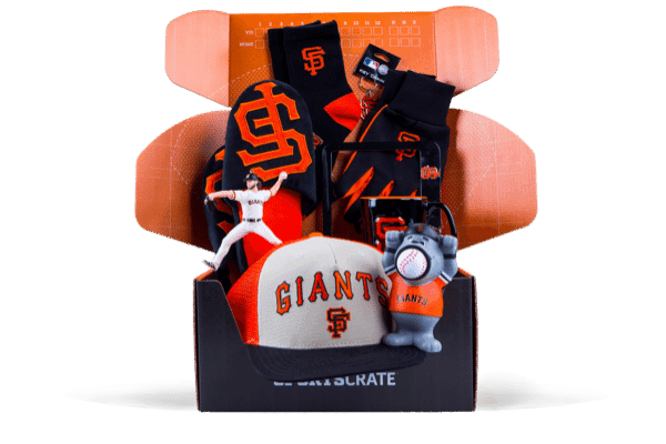 Sports Crate MLB Subscription Box SF Giants Crate