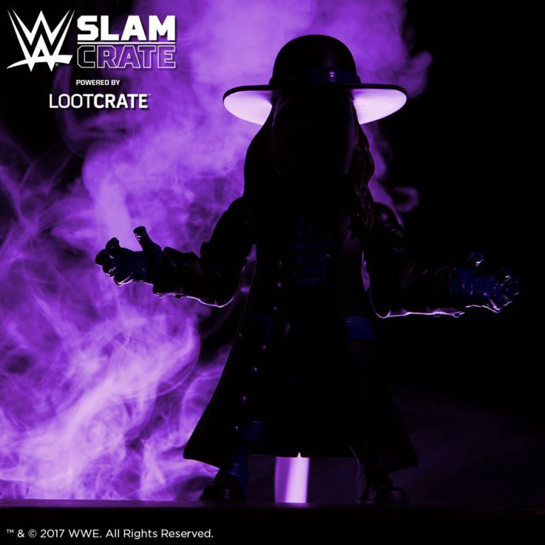 WWE Slam Crate August 2017 Theme -EXTREMES