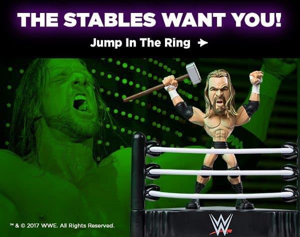 WWE Slam Crate June 2017 Box Spoiler - Triple H WWE Slam Stars collectible toy