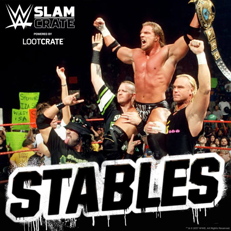 WWE Slam Crate June 2017 Theme - Stables