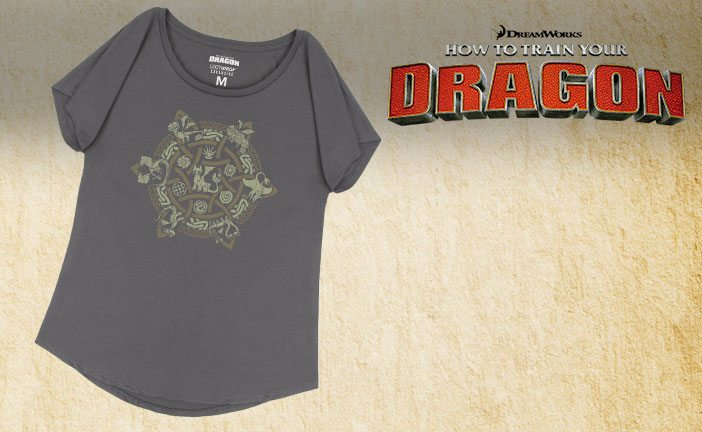August 2017 Loot for Her Spoiler - How To Train Your Dragon Scoop Neck Dolman