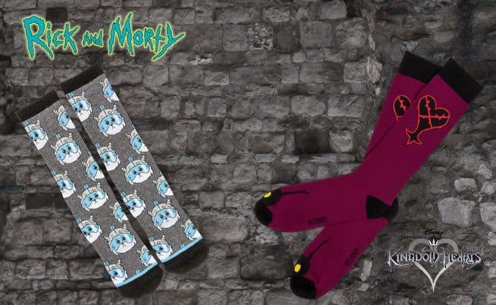 August 2017 Loot Socks Spoiler - Rick and Morty Socks and Kingdom Hearts Socks