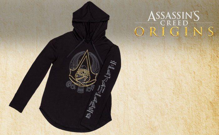 August 2017 Loot Wearables Spoiler - Assassin's Creed: Origins Lightweight Hoodie