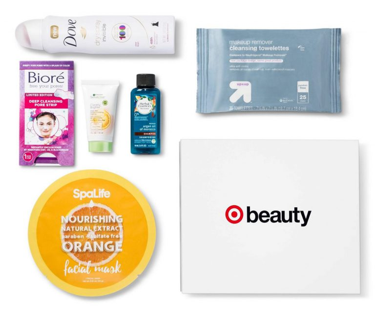 August 2017 Target Beauty Box Full Spoilers