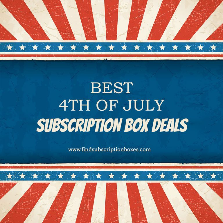 Best 4th of July Subscription Box Sales & Promos