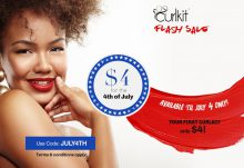 CurlKit 4th of July Sale