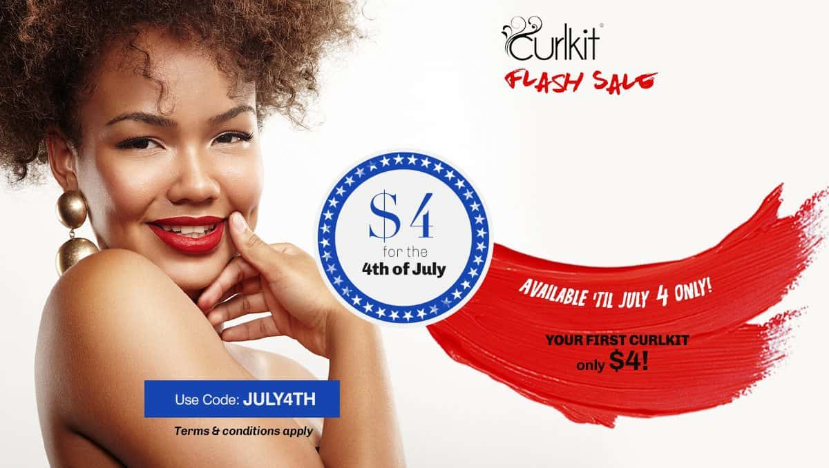 CurlKit $4 Box Offer! Get Your 1st CurlKit for Just $4!