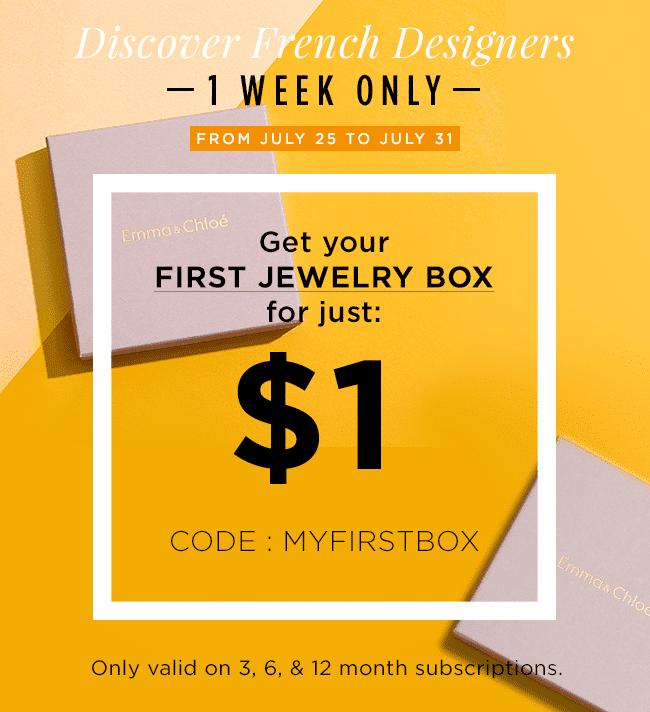 Emma&Chloé $1 Box Promo