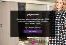 Free Gwynnie Bee Trial Month