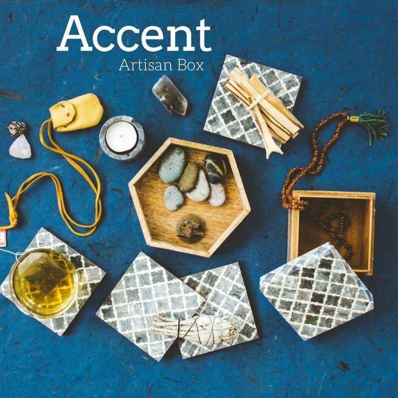 GlobeIn August 2017 Artisan Box Theme - Accent