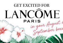 GLOSSYBOX September 2017 Spoiler - Lancome Paris