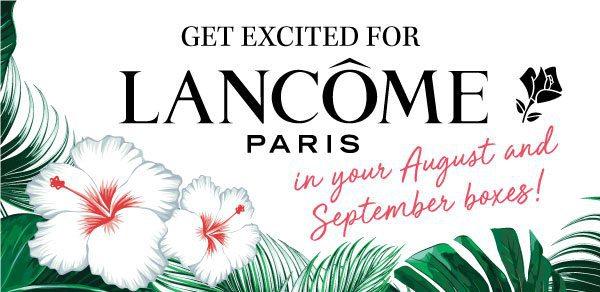 GLOSSYBOX August 2017 Spoiler - Lancôme Paris