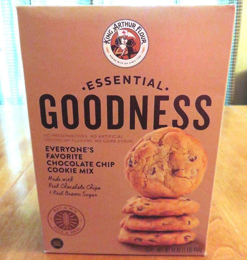 July 2017 Degustabox Review - King Arthur Flour Essential Goodness Chocolate Chip Cookie Mix