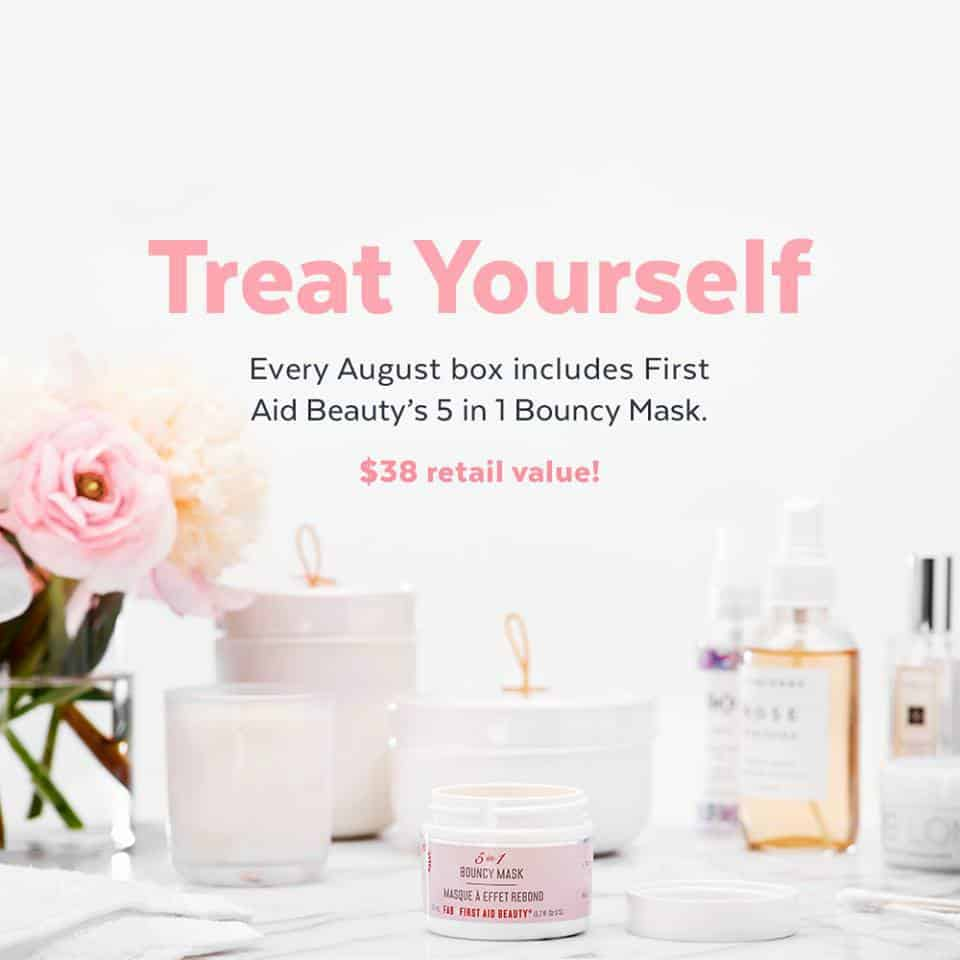 August 2017 POPSUGAR Must Have Box Spoiler - First Aid Beauty 5 in 1 Bouncy Mask