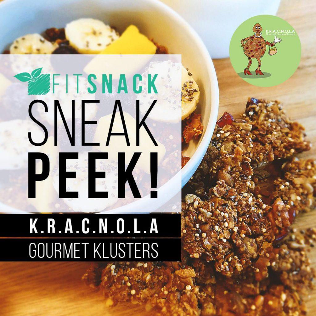 July 2017 Fit Snack Spoiler - K.R.A.C.N.O.L.A. Gourmet Clusters