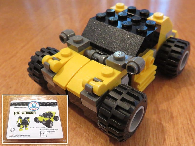 June 2017 Brick Loot Review: Bricklooters…Roll Out! - The Stinger