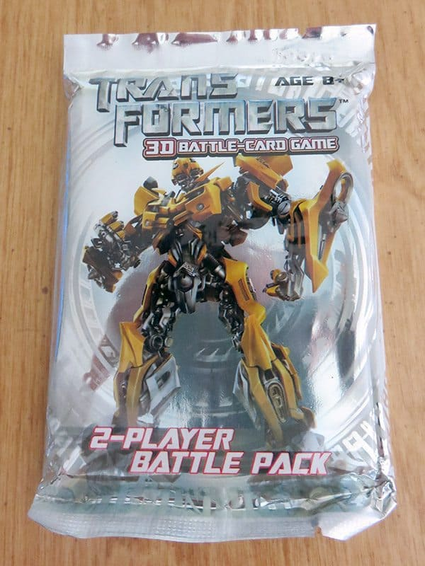 June 2017 Brick Loot Review: Bricklooters…Roll Out! - Transformers 3D Battle-Card Game
