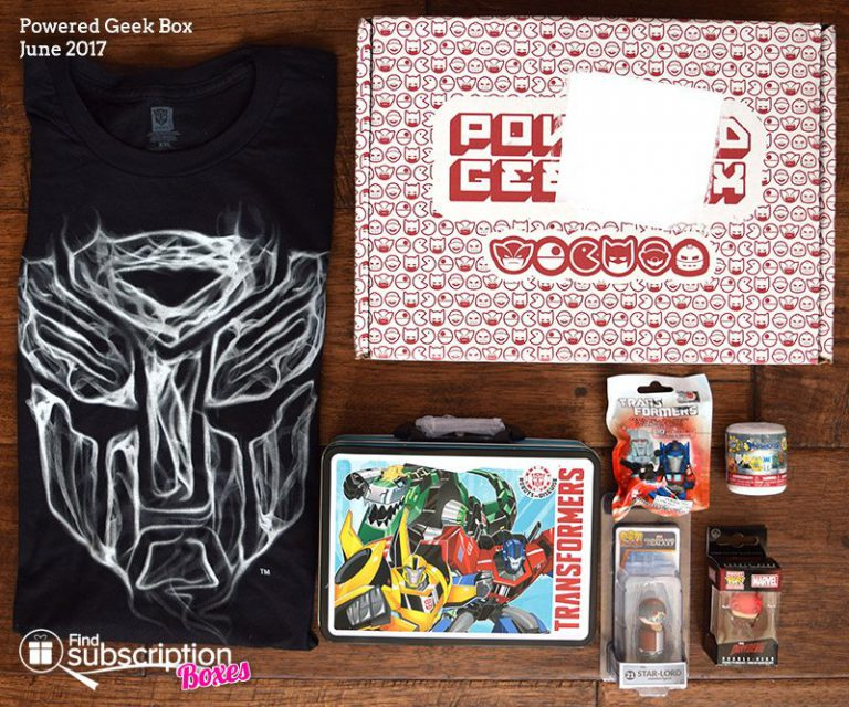 June 2017 Powered Geek Box Review - Box Contents