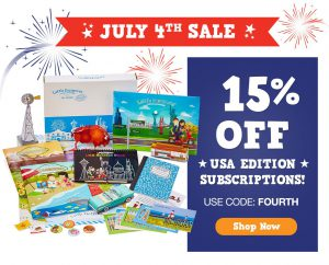 Little Passports 4th of July Sale