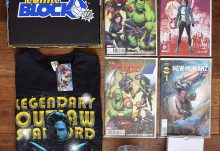 May 2017 Comic Block Review - Box Contents
