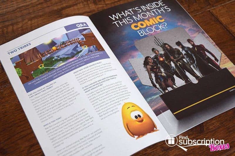 May 2017 Comic Block Review - Magazine