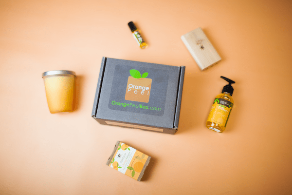 Orange Peel Box Aromatherapy Subscription