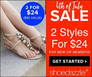 ShoeDazzle 4th of July Sale