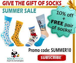 Sock Panda 4th of July Sale