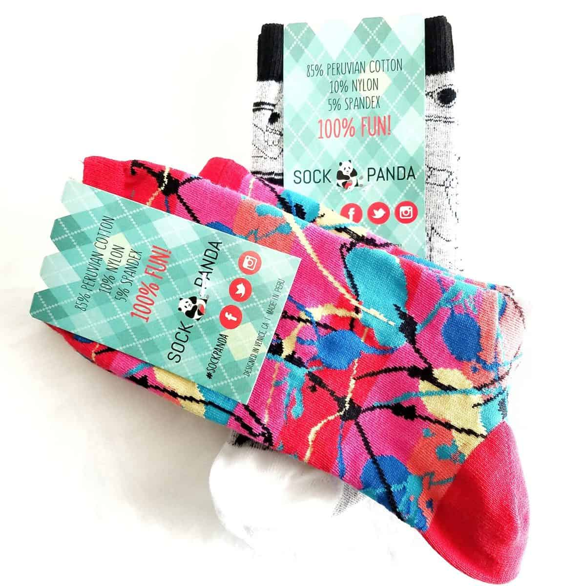 August 2017 Sock Panda Review - Socks