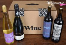 April 2017 Winc Review - Box Contents