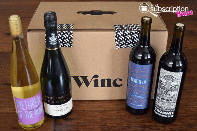 April 2017 Winc Review - Box Contents