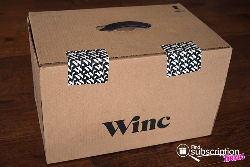 April 2017 Winc Review - Box